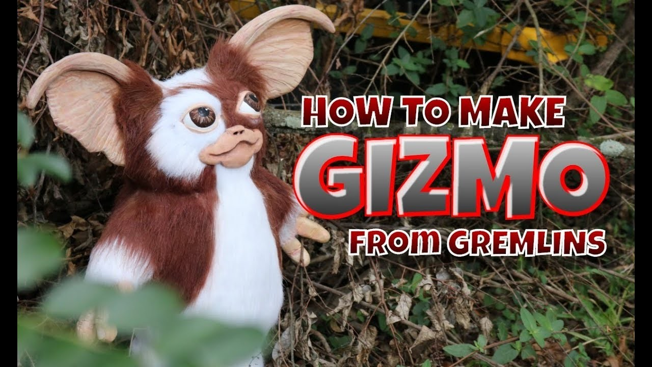 How to make Gizmo from Gremlins