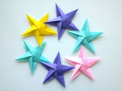 How to make Origami Star - Origami  Easy