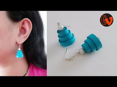 How to Make Quilling Earrings. Paper Quilling Earrings. Design 92