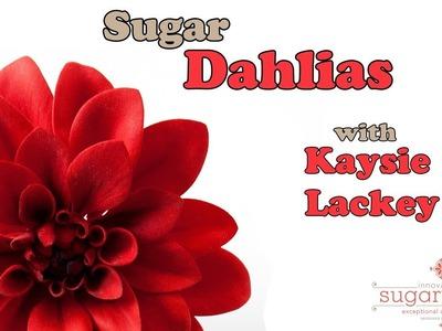 How to Make Stunning Sugar Dahlias