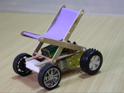 How to make WheelChair remote control car - Amazing Toys
