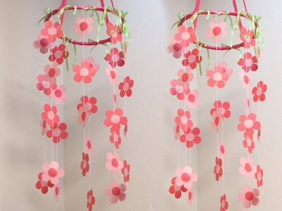 How To Make Wind Chimes Using Paper - Paper Wind Chines
