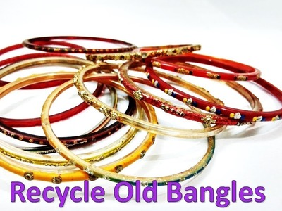 How to remake old bangles | best out of waste craft