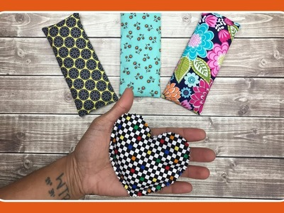 How to Sew Hot.Cold Packs and Hand Warmers with Crafty Gemini
