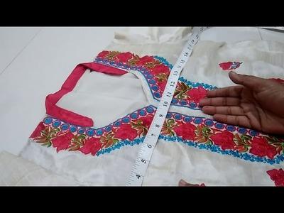 How to take Measurement of Kameez Kurti Dress (in Hindi)
