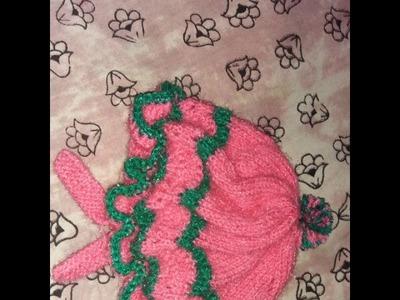 Knitting Baby Sweater Design Handmade.