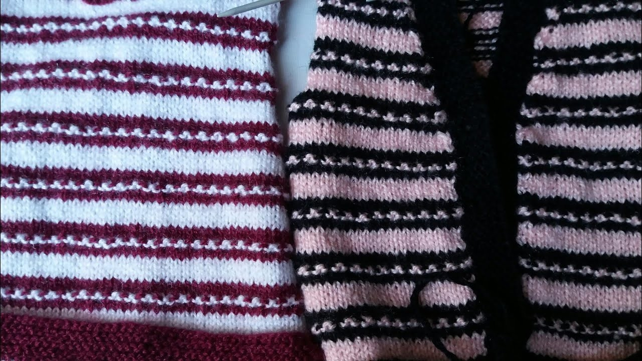 Knitting Rib Stitch For Beginners : Knitting for beginners two by ribbing with bars