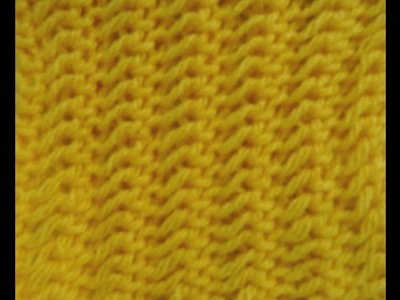Knitting Pattern Nr 16 * EASY ONE ROW REPEAT PATTERN *