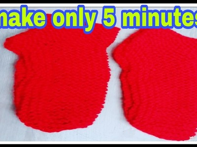 Latest Baby booties.socks &sillipar knitting full tutorial in hindi.knitting socks for ladies & baby