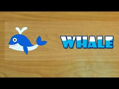 Paper Crafts for Kids - How to Make whale  (Very Easy)