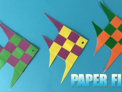 Paper Fish   How to Make a Cute Paper Fish Step by Step Tutorial