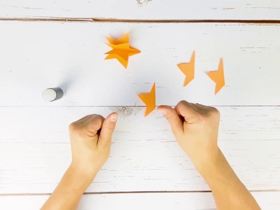 Paper Star Making for Christmas Decorations - How To Make