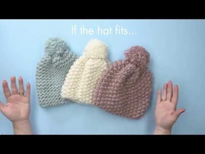 QVC How to make the Happy Daze Bobble Hat with Hannah Read-Baldrey & Wool and The Gang