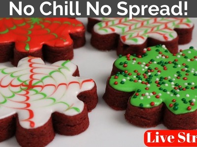 Red Velvet Sugar Cookies How to Live Stream