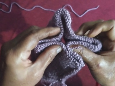 छोटी बच्चीयों की चोटी वाली टोपी || How to knit small girls woolen cap