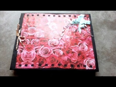 Anniversary & velentine day scrapbook for husband and special friend the best velentine Day gift????