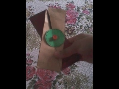 Best DIY idea for  scrapbook and explosion box DIAGONAL FOLD CARD