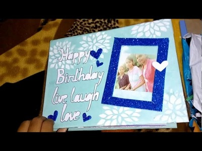 Best friend scrapbook. gift your besties such gifts with love????