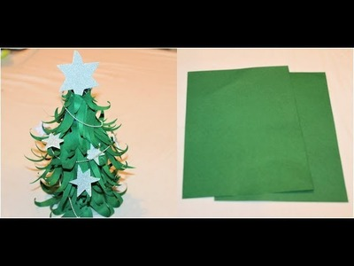Christmas Tree using paper.very Easy and Beautiful Christmas Tree???? DIY Project
