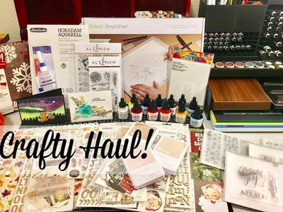 Crafty Haul~Scrapbook.com, Amazon, Jackson's Art Supply, CTMH