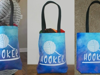 Crochet Hooker Tote Bag Giveaway -  (Ends April 8th) Free to Enter Worldwide