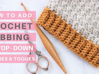 Crochet Ribbing Tutorial *Video Tutorial & Pattern Ideas*