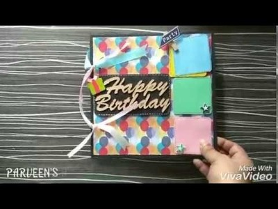 #cute scrapbook# adorable scrapbook# lovely album. made by PARVEEN NISHA