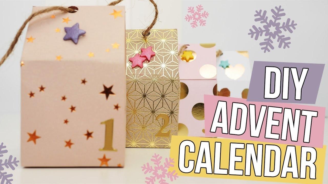 DIY Advent Calendar - Fold Beautiful Paper Houses