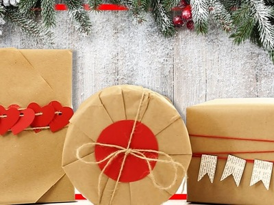 DIY and creative ideas for any life situation.  How to wrap your gift with style. Tips and Tricks