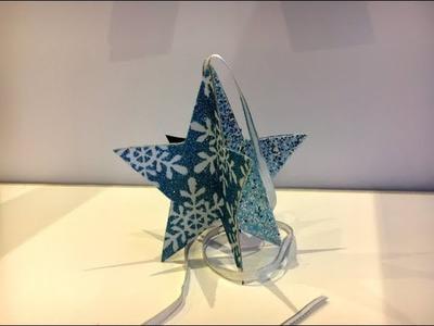DIY Hanging Paper Star