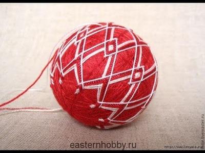DIY knitting: Temari