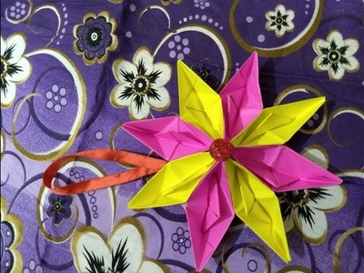 DIY- Paper Boat Hanging Star || Christmas Special || Innovative artsncrafts