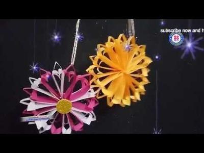 DIY|Paper Christmas Snowflake ||Room Decor Ideas||Paper Crafts||Wall Decor