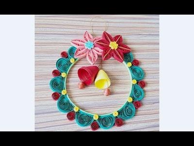 DIY Paper Quilling -Christmas Decoration - Easy & Simple  Christmas design 37