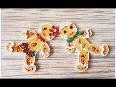 DIY Paper Quillings -Christmas Decoration - Easy & Simple  Christmas design 32