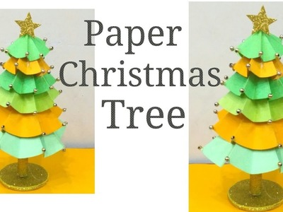 Easy Paper Christmas Tree