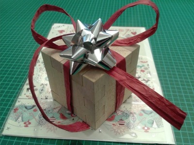 GrblGru: How to make a Puzzle Gift Box