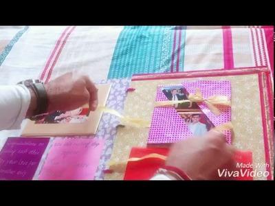 Handmade Wedding Scrapbook:Charu n Akshay ????