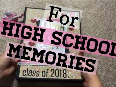 High School Album Flip through | DIY Photo Album | Scrapbook | Photo Album Ideas