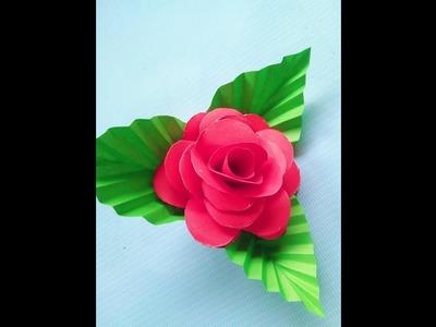 How make a paper flower (কাগজের ফুল তৈরি)