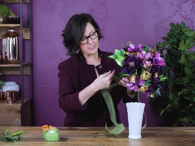How To Arrange A Paper Flower Bouquet