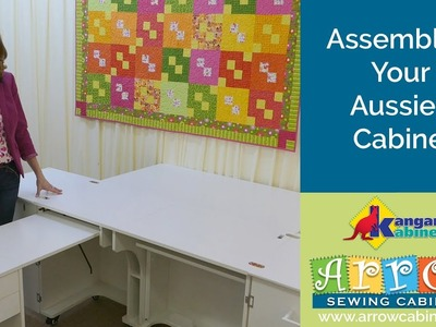 How to Assemble Your Aussie II Sewing Cabinet