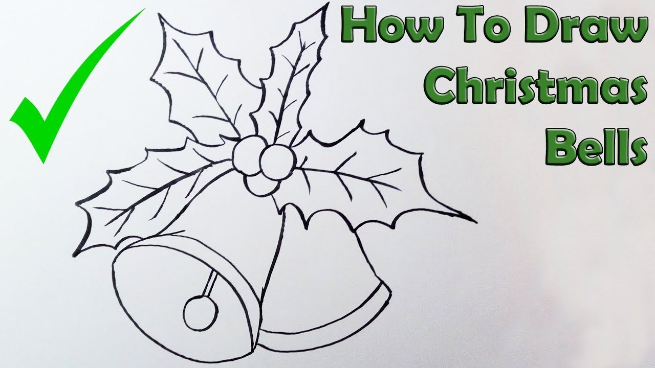 how to draw jingle bells