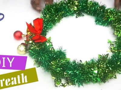How to make a Christmas Wreath | Make Your Own Christmas Wreath | DIY easy Christmas wreaths
