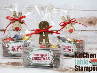 How to make a Cookie Cutter Christmas Crate Tutorial LIVE with Kitchen Table Stamper