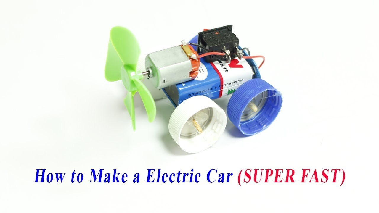 Sew A Toy Car Holder : How to make a electric car toy