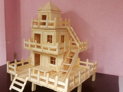 How to make Amazing House from Popsicle Stick