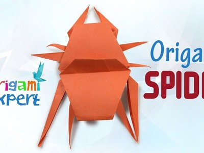 How to Make Origami Spider