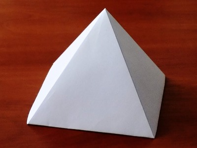How to make Paper Pyramid ( very easy ) | DIY Crafts