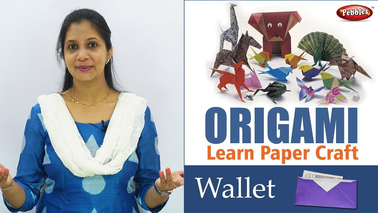 How to make Paper wallet step by step || Origami Projects || Origami Paper Wallet || Gujarati Video